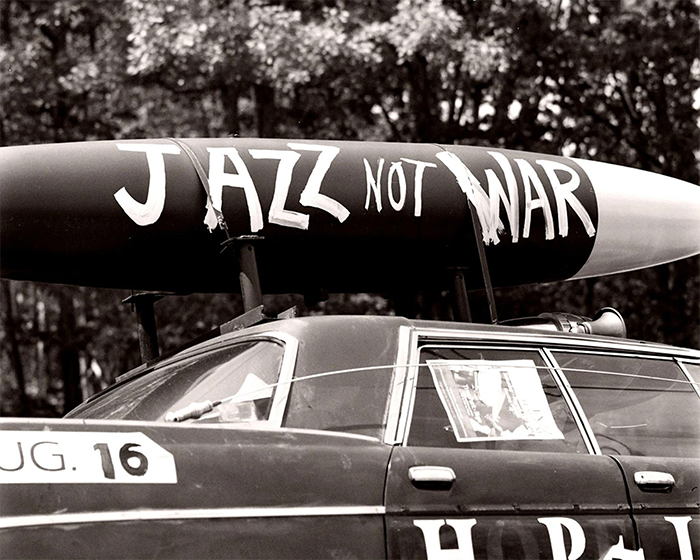 """Jazz not War""  photo by Jonathan Dunitz http://jmdunitzstudios.com/"